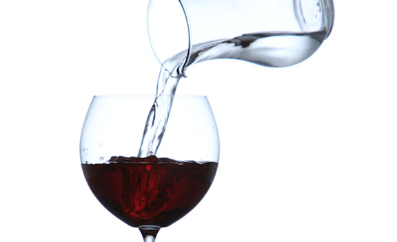 THE TASTE OF WATER INTO WINE