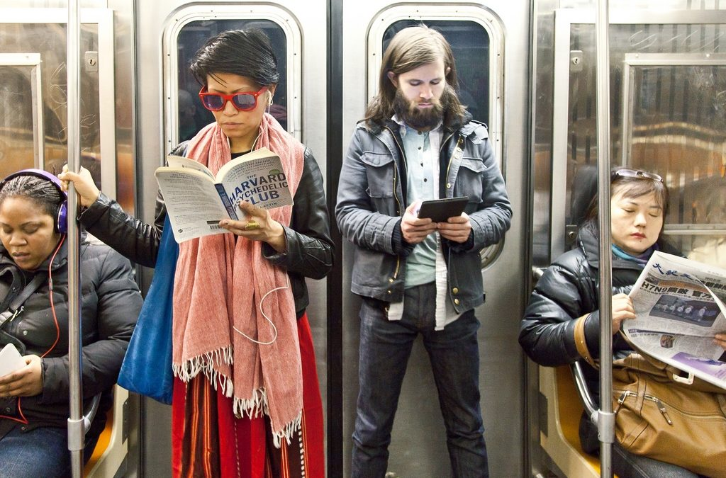 JESUS RIDES THE SUBWAY