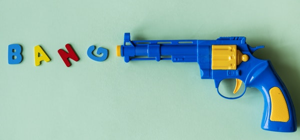 TAKING ON HELL WITH A WATER PISTOL